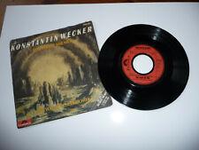 """Vinyl Single 7"""", Konstantin Wecker, Das macht mir Mut, Polydor 1981,"""