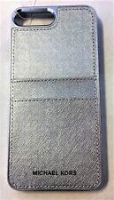 Michael Kors - Saffiano Pocket Case For Apple® Iphone 7 Plus - Silver