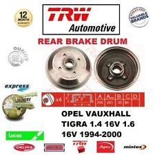 Para Opel Tigra 1.4 16V 1.6 16V 1994-2000 Cantidad 1x Tambor de Freno Trasero