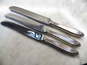 F PRELUDE INTERNATIONAL STERLING LUNCH KNIFE