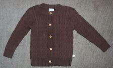 Bella Bliss Toddler Girls Brown Cotton Sweater - Size 2 - EUC