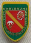Original BW Abzeichen Luftwaffe 19.Fallschirmjäger Bundestreffen 1985 Karlsruhe