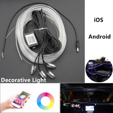 Car LED Guide Ambient Light RGB Dashboard Decorative Lamps Phone App Control 12V
