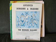 AD&D Dungeon The Rogues Gallery d&d brian blume jean wells 1980 9031 tsr rare!