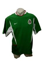 MAGLIA CALCIO NIKE MEXICO 2003 HOME JERSEY FOOTBALL SHIRT MAILLOT TRIKOT SIZE XL