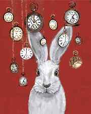 """16x20"""" DIY Paint By Number Kit Acrylic Painting On Canvas Wonderland Rabbit 341"""