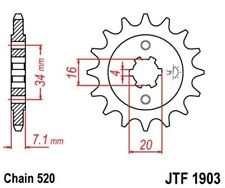 Piñón Piñón 14 Dientes Apto para KTM DUKE 125 DESDE AÑO Fab. 11 - ENVÍO GRATIS