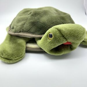 Folkmanis Turtle Hand Puppet Used Good Condition Emotions Hiding Educational Toy