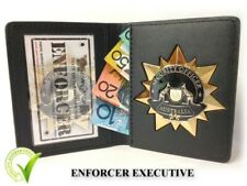 Badge & ID Wallet (NOT POLICE) - COLLECTOR EDITION - GOLD