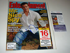 Matt Damon Signed July 2004 Entertainment Weekly JSA CERTIFIED Bourne Idenitity