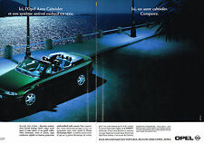 PUBLICITE ADVERTISING  1995   OPEL ASTRA  CABRIOLET 1.8I  ( 2 pages)
