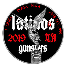 2018 Mexico 1 Onza Libertad Latinos 1 Oz .999  Silver Colour Coin