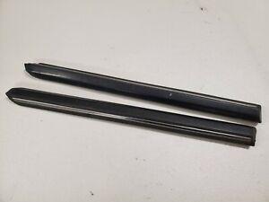 Bmw E30 Door Trim Early Model Coupe PreFacelift Chrome Rear Quarter Set Pair OEM