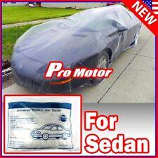 Clear Plastic Temporary Universal Disposable Vintage Car Cover Rain Dust Garage