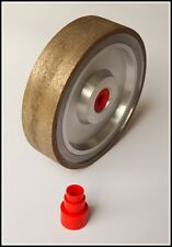 "TOP 6"" sintered diamond wheel grit 30 lapidary disc cabbing sanding 30grit"