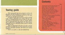 1968 SHELL OIL Touring Guide Car Games How to Read a Road Map National Parks