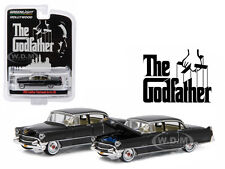 """1955 CADILLAC FLEETWOOD SERIES 60 """"THE GODFATHER"""" 1/64 CAR BY GREENLIGHT 44740 B"""