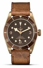 AUTHENTIC NEW TUDOR HERITAGE BLACK BAY BRONZE MENS WATCH M79250BM-0001