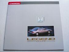 Prospekt Honda Legend Coupe 2.7i, 1989, 30 Seiten, 30x27 cm