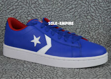 Converse Pro Leather OX 137405C Royal Blue Red White Men's 9.5 NEW IN BOX