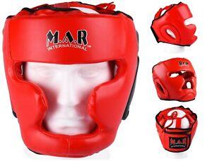 MAR Traditional Boxing Head Guard