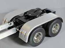 Aluminum L&R Rear Fender Tamiya 1/14 King Grand Knight Hauler Aeromax Cascadia