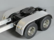 Aluminum L&R Rear Dully Fender Tamiya RC 1/14 King Grand Knight Hauler Aeromax