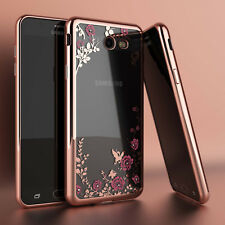 For Samsung Galaxy S7 S8 S9 Plus J3 Luna Pro J7 Sky Pro Luxury TPU Clear Case
