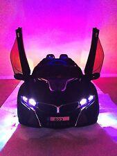 Children Electric Ride On Toy Cars 12V Battery Powered Black BMW i8 Not Ferrari