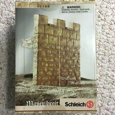 Schleich 40196 Castle Wall, Wide (Rare, retired, sealed in original box)
