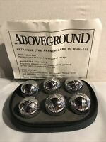 Above Ground Miniture Boules Set Petanque French Game Of Boules