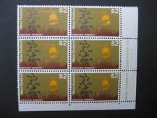 NEW ZEALAND 1970 PICTORIALS $2 IMPRINT BLOCK NO 1 NHM SG 934