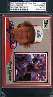 Gary Carter Psa/dna Signed 1983 Donruss All Star Authentic Autograph