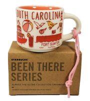 New Starbucks Mini Mug Been There Series South Carolina Christmas Ornament 2oz