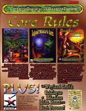 Gary Gygax's Lejendary Adventure RPG Core Rules set Limited Edition Gift Set FS