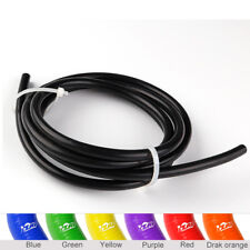 "Black 20 Feet 1/8"" 3mm Fuel Air Silicone Vacuum Hose Line Tube Pipe Universally"