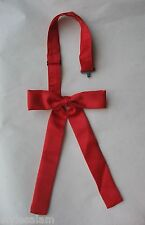 Colonel tie western bow tie neckband red square dance country wedding NEW