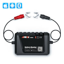12V Bluetooth 4.0 Car Battery Monitor Tester Diagnostic Tool For Android IOS US
