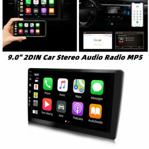 """9.0"""" 2DIN Touch Android Car Stereo Audio Radio MP5 Player Bluetooth Wifi 2+32GB"""