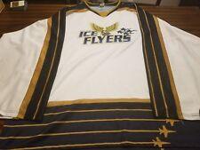 Pensacola Ice Flyers Home White Replica Jersey Blank SPHL ECHL Pilots
