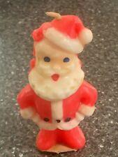 "Vintage Gurley Santa Candle 3"" Tall"