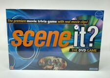 Scene it? Original 2003 Movie Trivia Family Board Game Mattel with DVD Sealed
