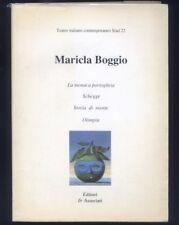 Teatro italiano contemporaneo Siad 22 Maricla Boggio,Schegge,Olimpia, Storia...R
