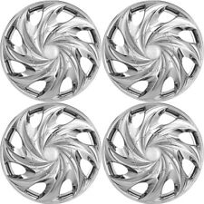 "4pc Hubcaps Fits Select Truck Auto SUV 15"" Chrome Replacement Wheel Skin Cover"