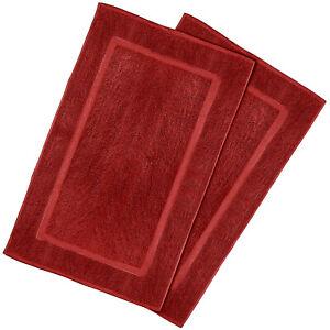 Goza Towels Cotton Bath Mat (2 Pack, 20 x 31 inches)