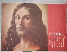 LA VITA DI GESU Istituto Missionario S Cuore 1953 libro religione saggistica di