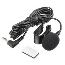 Universal 3.5mm External Microphone Car Head Unit Radio Stereo Slim Mic Jack