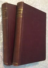 Jules Verne TOUR OF THE WORLD IN 80 DAYS & 5 WEEKS IN A BALLOON Antique Books