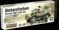 Vallejo German ISAF Model Air Acrylic Paint Set 17ml x8 VAL 71159