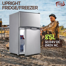 Portable Bar Fridge Freezer Cooler 12v/24v/240v Camping Caravan Home Boat 85l